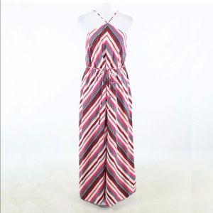 Loft Halter Neck Maxi Dress